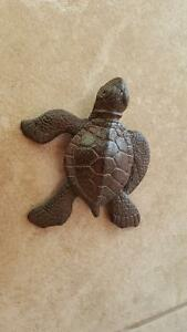 Brand New Wrought Iron Sea Turtle Key Holder