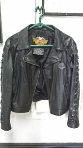women's Leather Harley jacket new condition