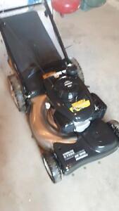 """21"""" self propelled stainless steel honda lawn mower"""