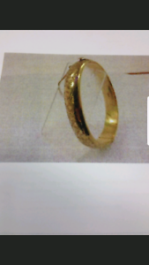 Lost: Gold Patterned Bracelet with Rubies Runaway Bay Gold Coast North Preview