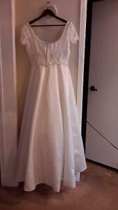 Beautiful Wedding Dress with cloak