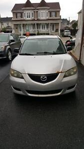 2004 Mazda Mazda3 Sedan - Low Kilometre Quick Sell
