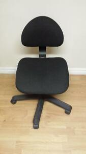 Black ikea adjustable swivel chair