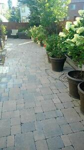 INTERLOCK STONE  MUST GO BY END OF AUGUST