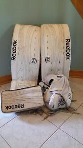 Goalie equipment used 1 season only.