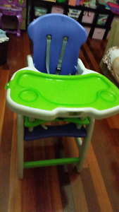 Multi Functional High Chair Seven Hills Blacktown Area Preview