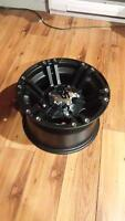 brand new ss rims wheels for can am 4/137 bolt patern