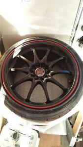 Volk (Rays) Time Attack CE28N Special Edition Wheels 18x8.5 +52 Kitchener / Waterloo Kitchener Area image 1