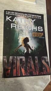 2 Kathy Reichs' Books from the series Virals London Ontario image 1