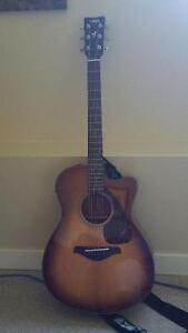 Yamaha Guitar Acoustic FSX700SC Brown Sunburst