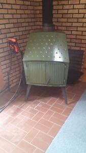 Scandinavian wood stove