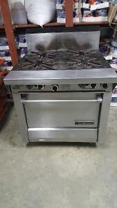 Burner with oven garland 4 face working conditions 38inch by 34