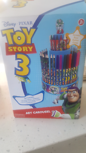Toy Story art carousel Geelong Geelong City Preview