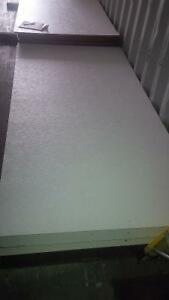 WHITE PATTERNED TRAILER WALL AND CEILING SHEETS London Ontario image 1
