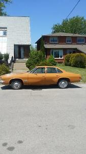 1973 oldsmobile cutlass supreme 4 door low 64 km