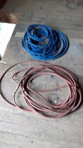 Blue compressor hose