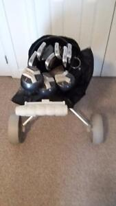 Full Set Of Spalding Golf Clubes For Sale