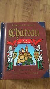 Château book in French