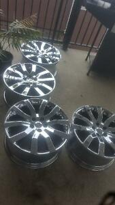 17 inch 5x120 bolt pattern land rover rims for sale