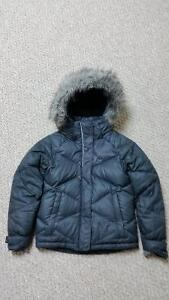 Girls Columbia Mini Lay D Down Winter Coat-Black-REDUCED