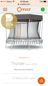 Vuly Thunder Large Trampoline Daisy Hill Logan Area Preview