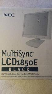 NEC MultiSync LCD 1850E Monitor (NEW)