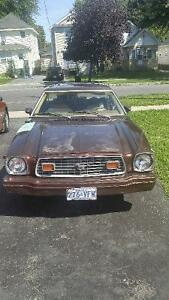 Selling a Ford mustang ghia. V6 3500 obo.