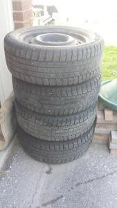 17 inch import 5 bolt