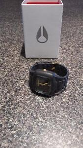 Nixon The Player, Black with Gold accents