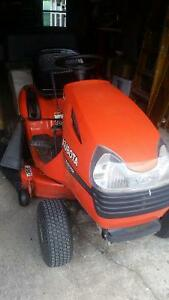 Lawn Tractor /Kubota with leaf attachment