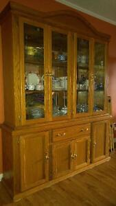 Oak dining suite for sale