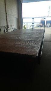 Flatbed Metal Trailer Rental- 14000lbs 8x20 London Ontario image 6
