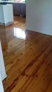 Floor Sanding & Polishing & Repairing service from $21 per m2 Dural Hornsby Area Preview