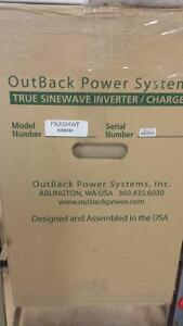 New Outback FX2024 pure sine wave 24 Vdc inverter/charger Kitchener / Waterloo Kitchener Area image 3