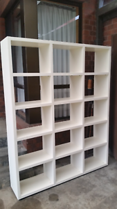 BOOKSHELF CUBE SHELVING UNIT Thornbury Darebin Area Preview