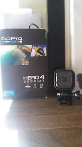 Go pro hero 4 session