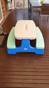Little tikes fold up table Yinnar Latrobe Valley Preview