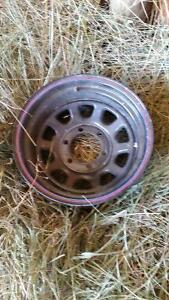 Have lots of Chevy/Toyota rims and tires