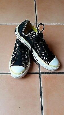 45917cc91bd7 worn once genuine Converse All Star shoes trainers uk size 5
