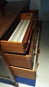 Double bed, Antique dresser mirror, sleeper sofa, leather chair Kawartha Lakes Peterborough Area image 3