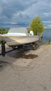 Boat motor trailer+  Need gone!!