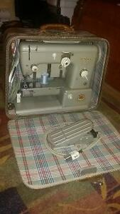 Vintage Pfaff 332 sewing machine with case
