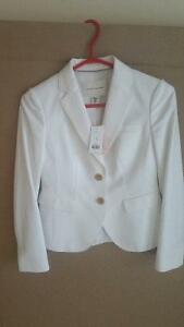 Banana Republic White Jacket (Brand NEW)