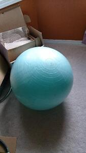home gym, yoga ball, jump rope, core strength