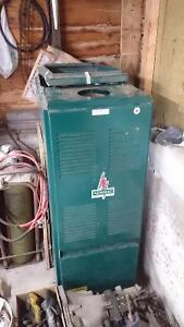 Newmac oil furnace and insulated chimney piping Peterborough Peterborough Area image 1