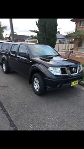 SWAP OR SELL 2013 Dual Cab ST 4x4 Nissan Ute Old Toongabbie Parramatta Area Preview