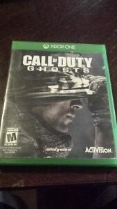 Call of duty ghosts  xbox one