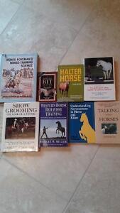 Lot of 8 horse training books you choose $5.00 each