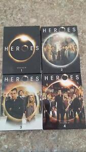 All 4 Heroes Seasons
