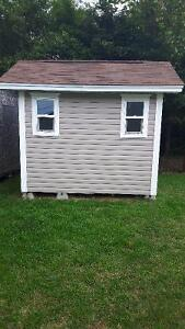 Deluxe shed (8X10)
